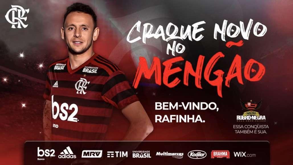 Officiel : Rafinha retourne au Brésil