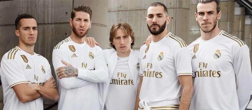 Real Madrid : le maillot domicile 2019/2020 dévoilé