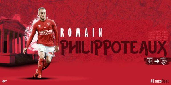 Officiel : Romain Philippoteaux signe à Nîmes
