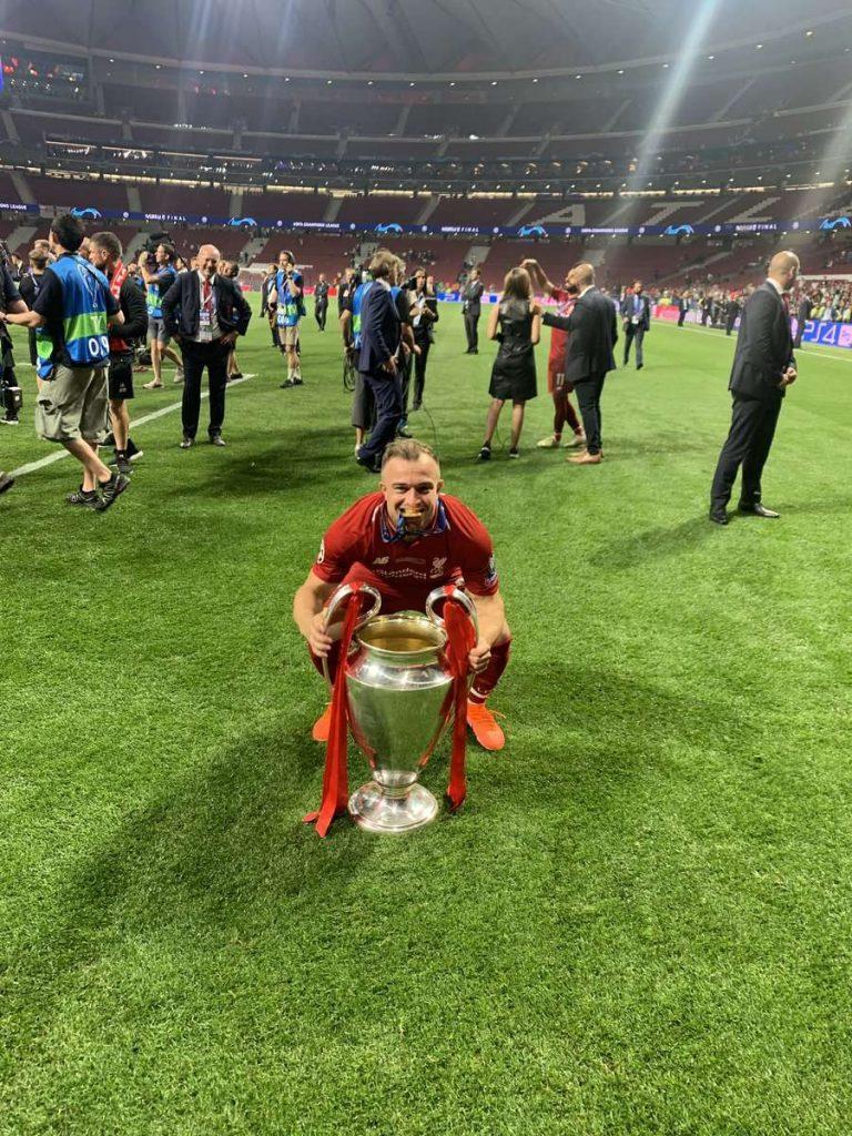 Liverpool : Xherdan Shaqiri s'exprime sur son avenir