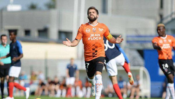 Lorient : deux touches en Ligue 1 pour Jimmy Cabot