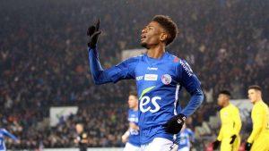 RC Strasbourg : Da Costa a deux touches en Angleterre
