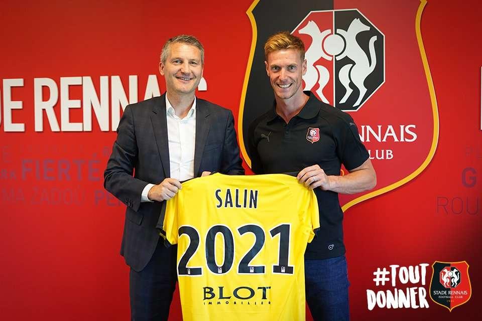 Officiel : Salin signe bien à Rennes