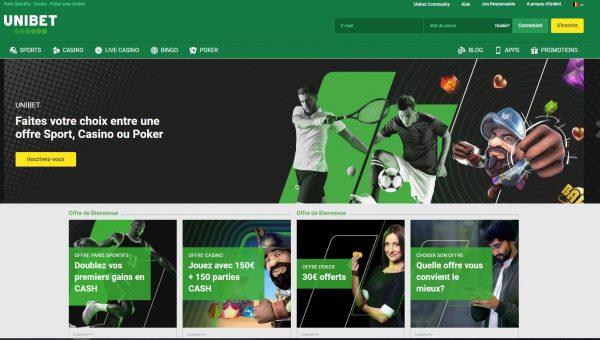 Code promo Unibet Belgique septembre 2019 : doublez vos premiers gains !