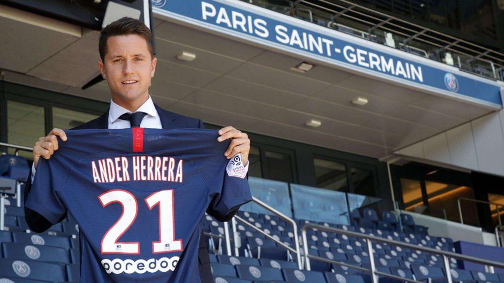 Officiel : Ander Herrera signe comme prévu au PSG