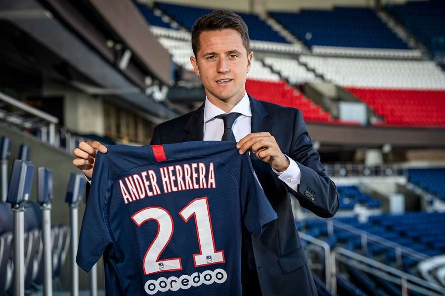 PSG : Ander Herrera «chanceux» et optimiste