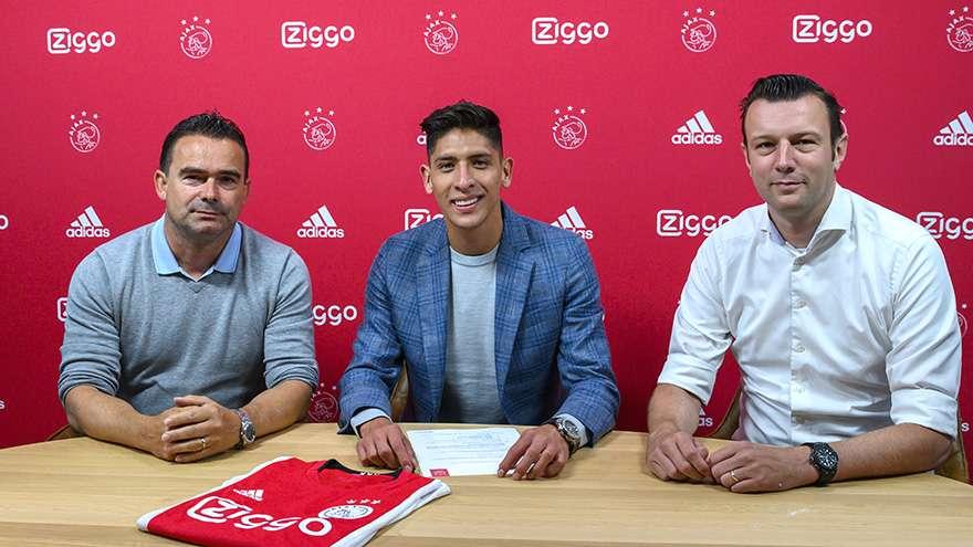 Officiel : Edson Alvarez signe à l'Ajax