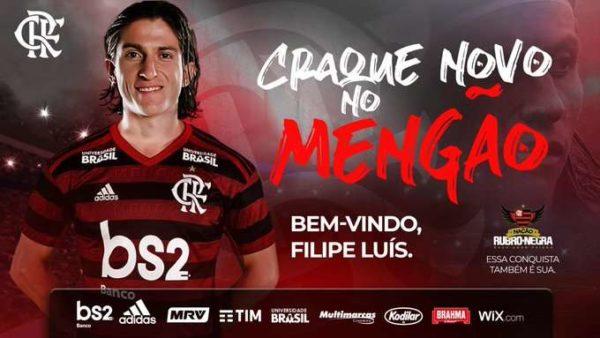 Officiel : Filipe Luis signe à Flamengo