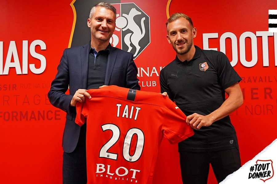 Officiel : Flavien Tait rejoint le Stade Rennais