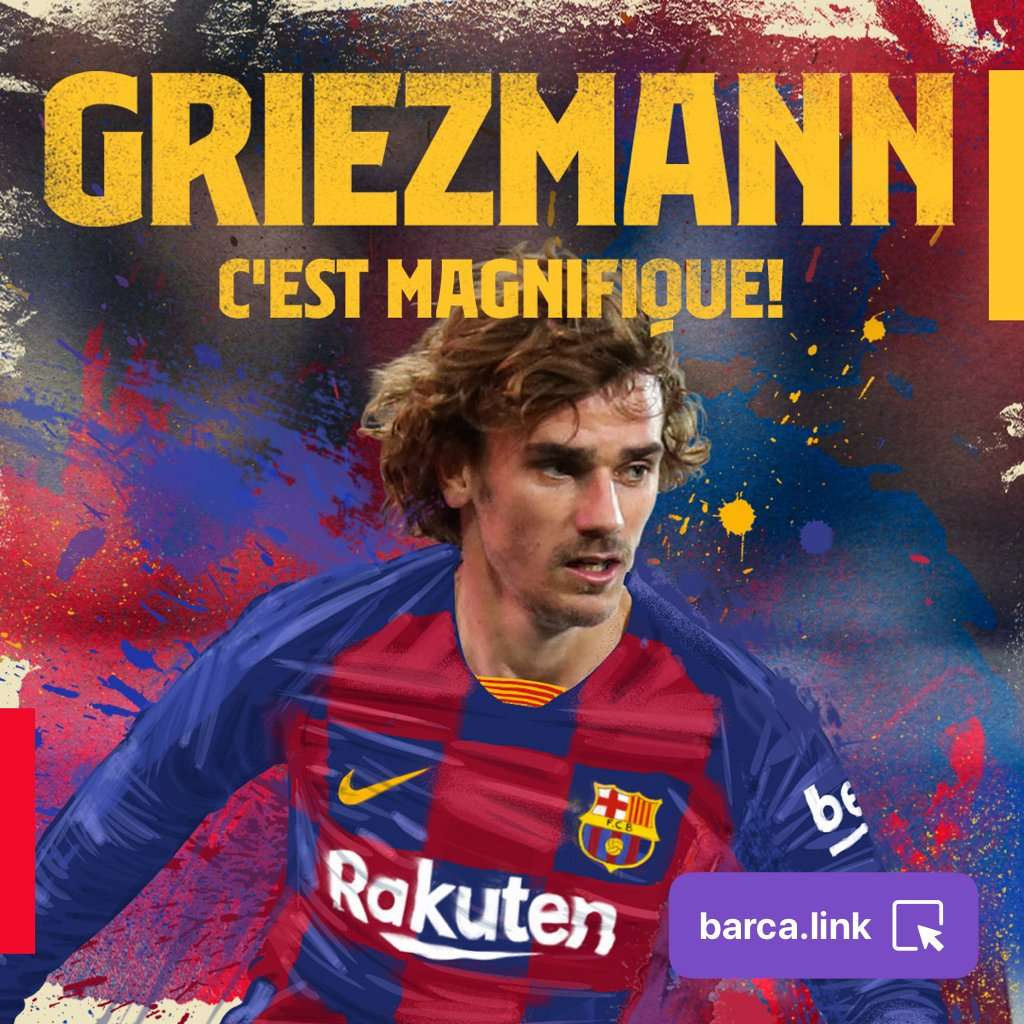 Officiel : Antoine Griezmann est officiellement un nouveau joueur du Barça