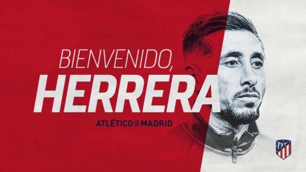 Officiel : Hector Herrera rejoint l'Atletico Madrid