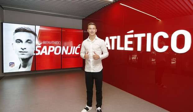 Officiel : Saponjic signe à l'Atletico