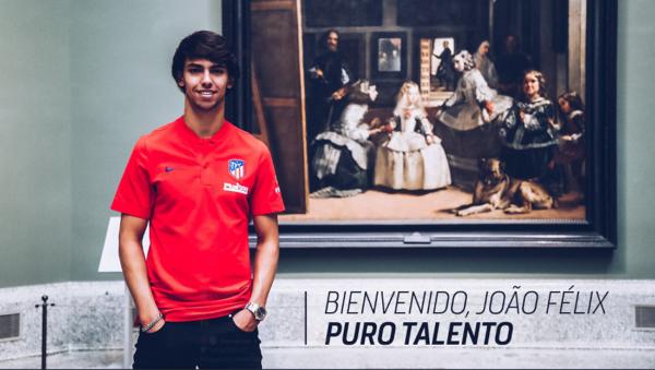 Atletico Madrid : Joao Felix puissance 7