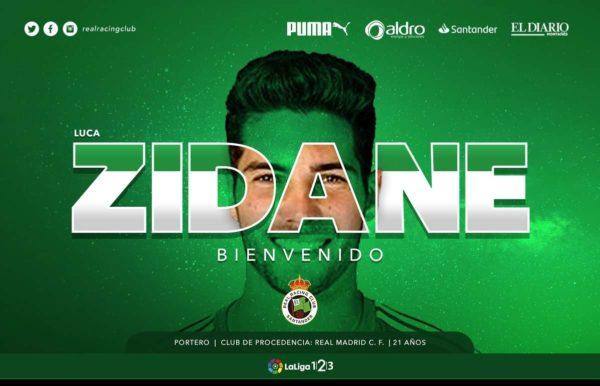Officiel : Luca Zidane prêté un an au Racing Santander