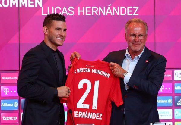 Lucas Hernandez revient sur le choix du Bayern