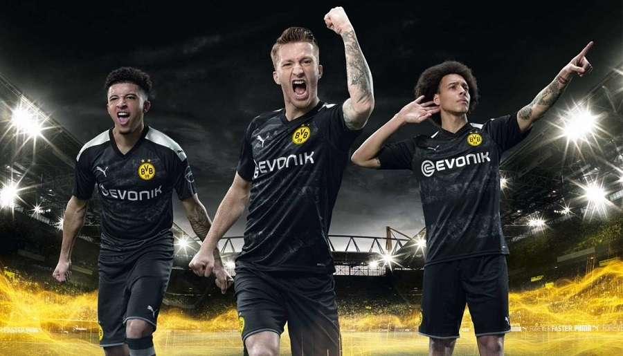 Dortmund : le maillot extérieur 2019/2020 dévoilé
