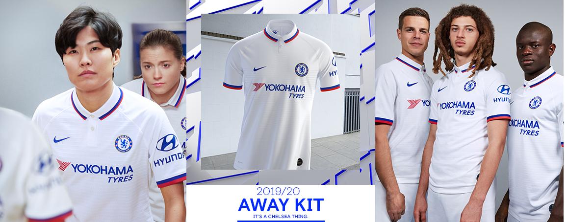 Chelsea : le maillot extérieur 2019/2020 dévoilé