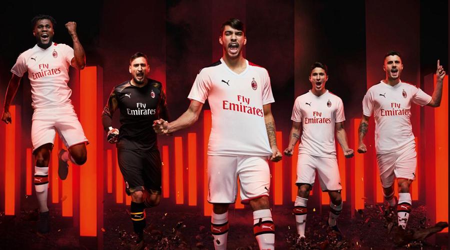 Milan AC : le maillot away 2019/2020 dévoilé