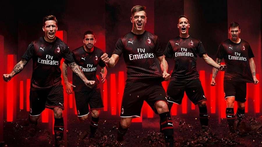 Milan AC : le maillot third 2019/2020 dévoilé