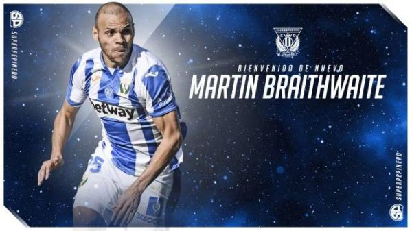Officiel : Martin Braithwaite reste en Liga