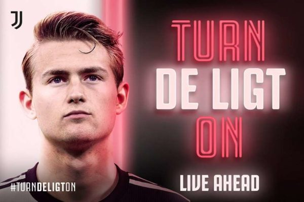 La Juve officialise le transfert de Matthijs de Ligt