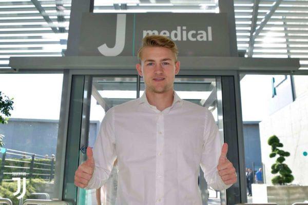 Juventus : visite médicale pour Matthijs de Ligt