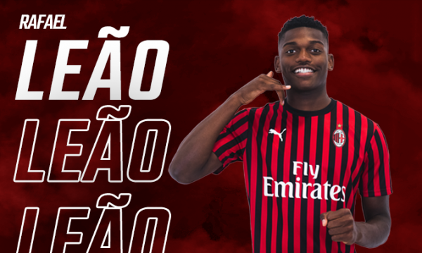 Officiel : Rafael Leao s'engage au Milan AC