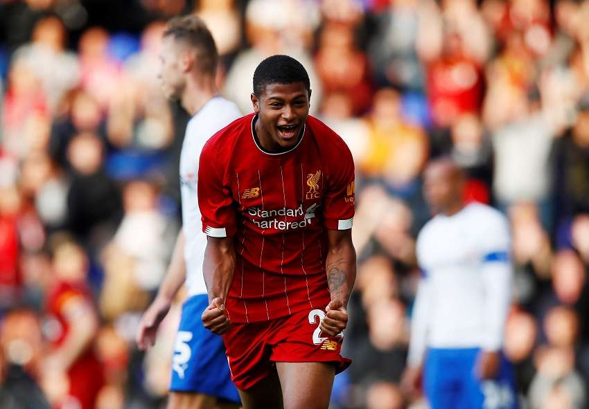 Image result for curtis jones and rhian brewster""