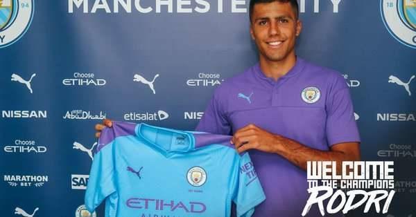 Manchester City officialise l'arrivée de Rodri !