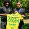 Officiel : Samuel Moutoussamy rempile au FC Nantes
