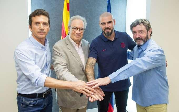 Officiel : Victor Valdés entraîneur des jeunes du Barça