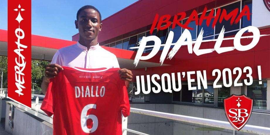 Officiel : le Stade Brestois conserve Diallo