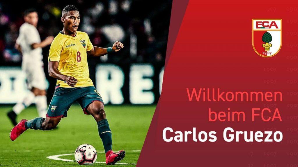 Officiel : Gruezo signe à Augsburg