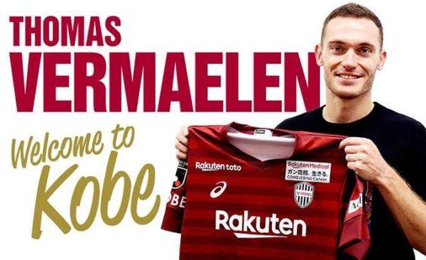 Officiel : Vermaelen signe au Vissel Kobe