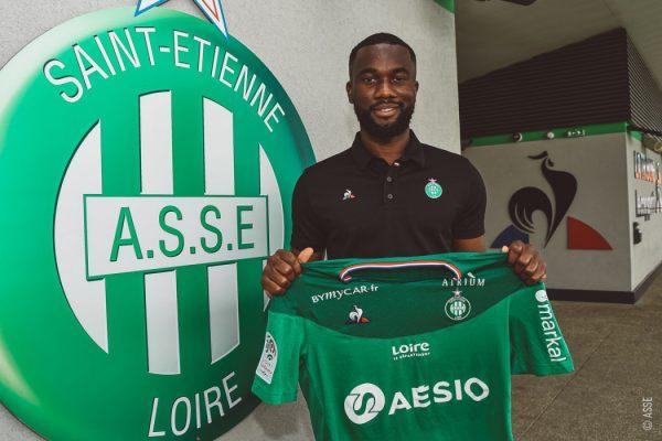 Officiel : Jean-Eudes Aholou prêté à l'ASSE