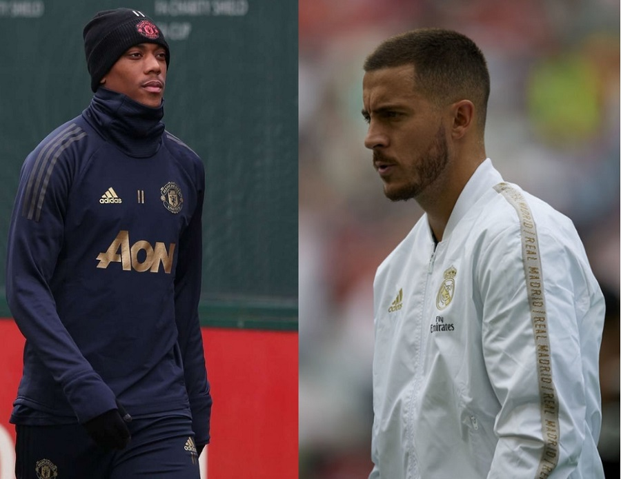 Anthony Martial – Eden Hazard : du 9 pour 7 année