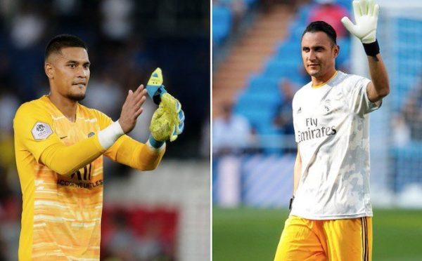 Accord PSG-Real Madrid pour Alphonse Areola et Keylor Navas