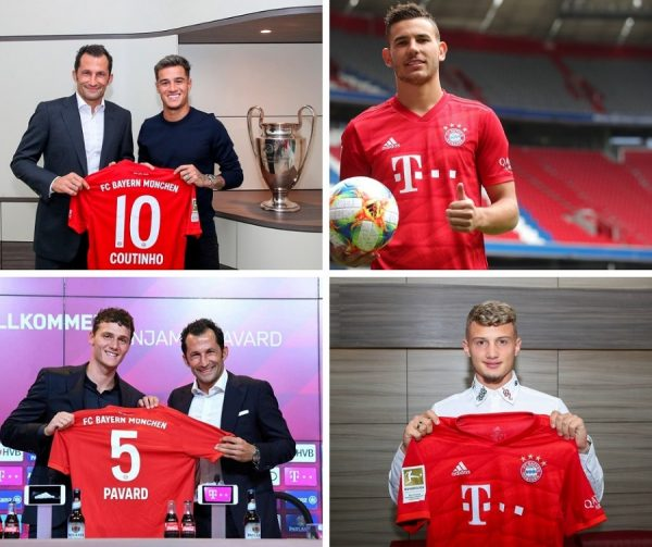 Bayern Munich : un mercato à 110 millions d'euros