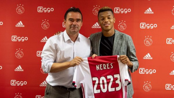 Officiel : David Neres prolonge bien à l'Ajax