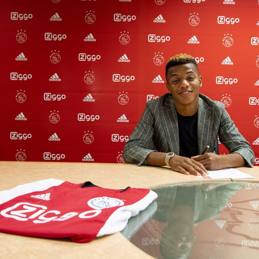 Officiel : David Neres prolonge bien à l'Ajax