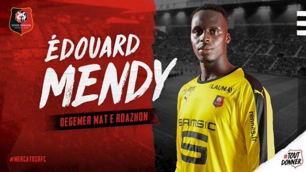Officiel : Edouard Mendy gardera les cages du Stade Rennais