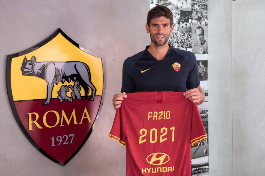 Officiel : Federico Fazio prolonge son contrat à Rome
