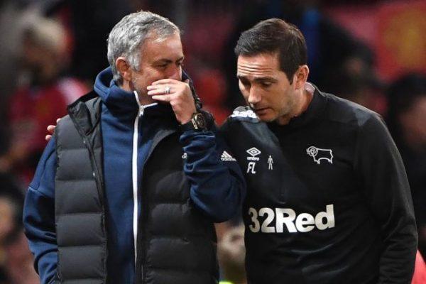 Chelsea : José Mourinho plein d'espoirs pour Frank Lampard