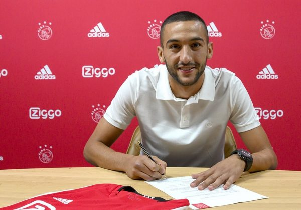 Officiel : Hakim Ziyech prolonge à l'Ajax