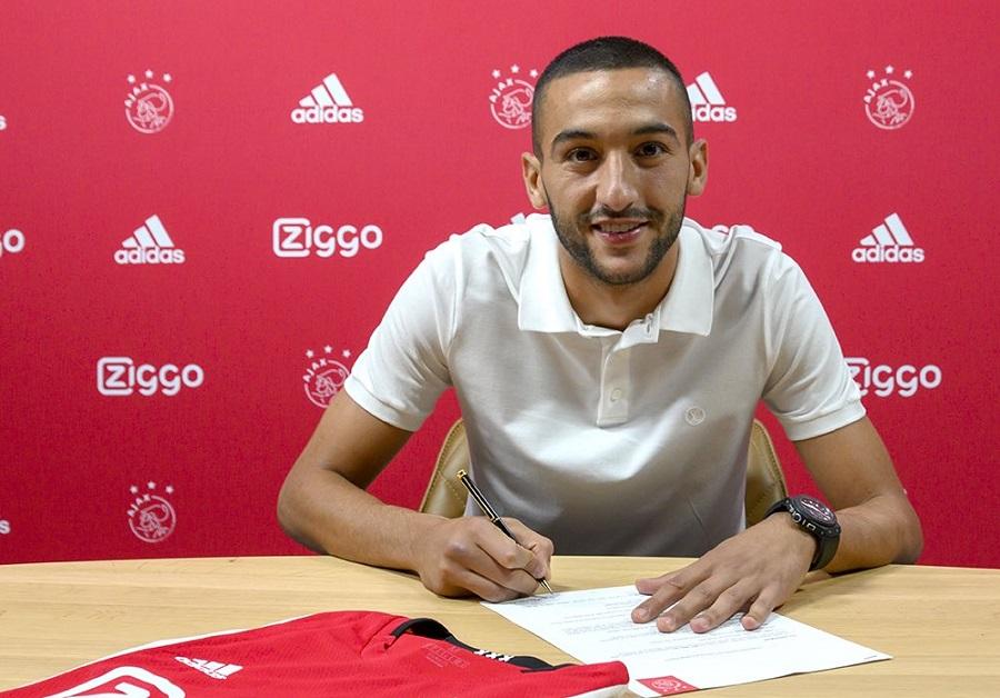 Officiel : Hakim Ziyech prolonge à l'Ajax