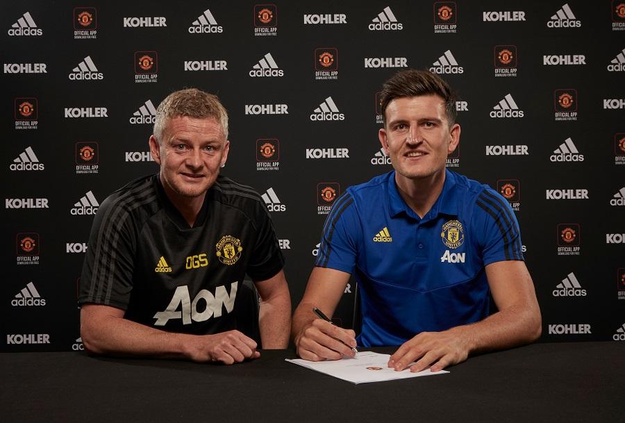 Officiel : Harry Maguire signe à Manchester United pour un montant record