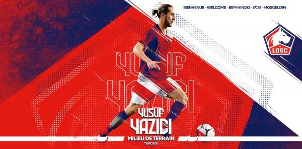 Officiel : Yusuf Yazici signe au LOSC