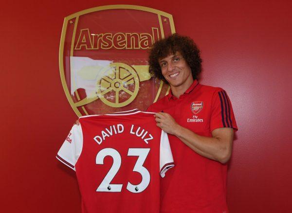 Arsenal : les premiers mots de David Luiz avec le maillot frappé du canon