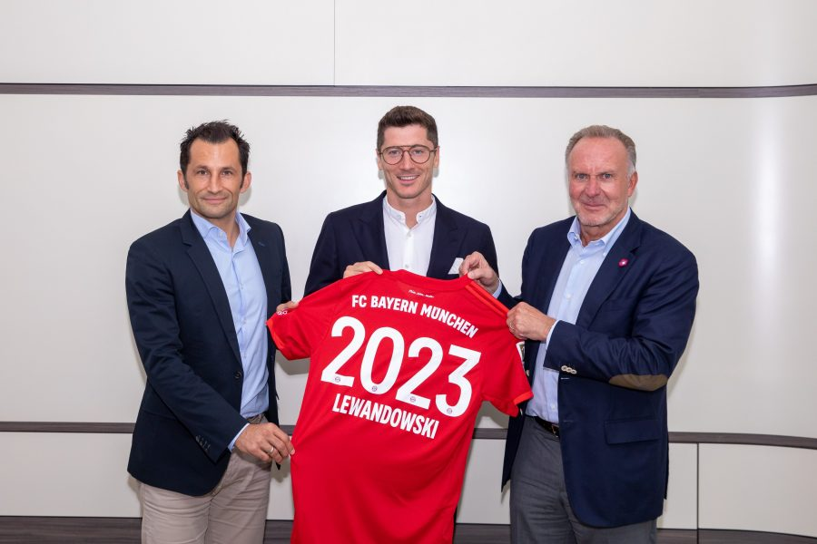 Officiel : Lewandowski plus que jamais Bavarois !