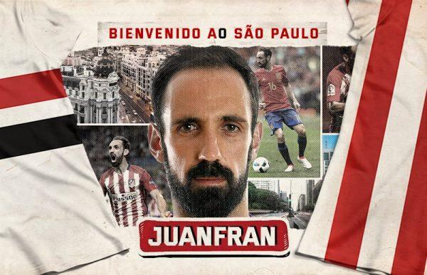 Officiel : Juanfran rallie le Brésil